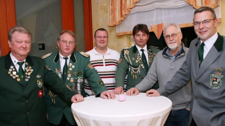 Die Präsidiumsmitglieder
